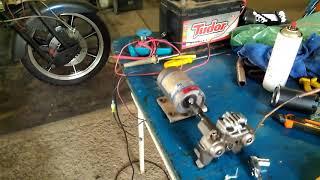 Compressor automotivo com motor de geladeira