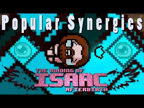 The Binding of Isaac Afterbirth | Blue Squares of Death | Popular Synergies!