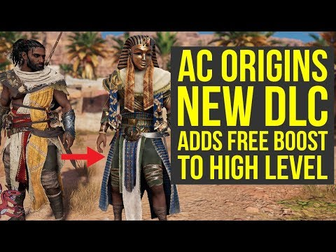 Assassin's Creed Origins DLC Gives FREE BOOST TO HIGH LEVEL (AC Origins DLC)