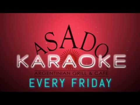 Asado Utah karaoke