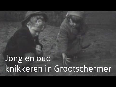 1937, knikkeren in Grootschermer