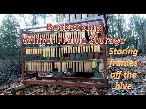 How To Store Bee Hive Frames During The Winter