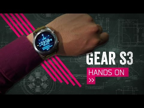 Samsung Gear S3 Hands-On