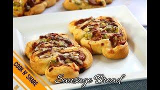 Sausage Pizza Bread - Pig in a Blanket 소세지 빵/ 피자 빵