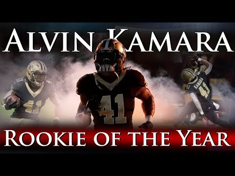 Alvin Kamara - Rookie of the Year