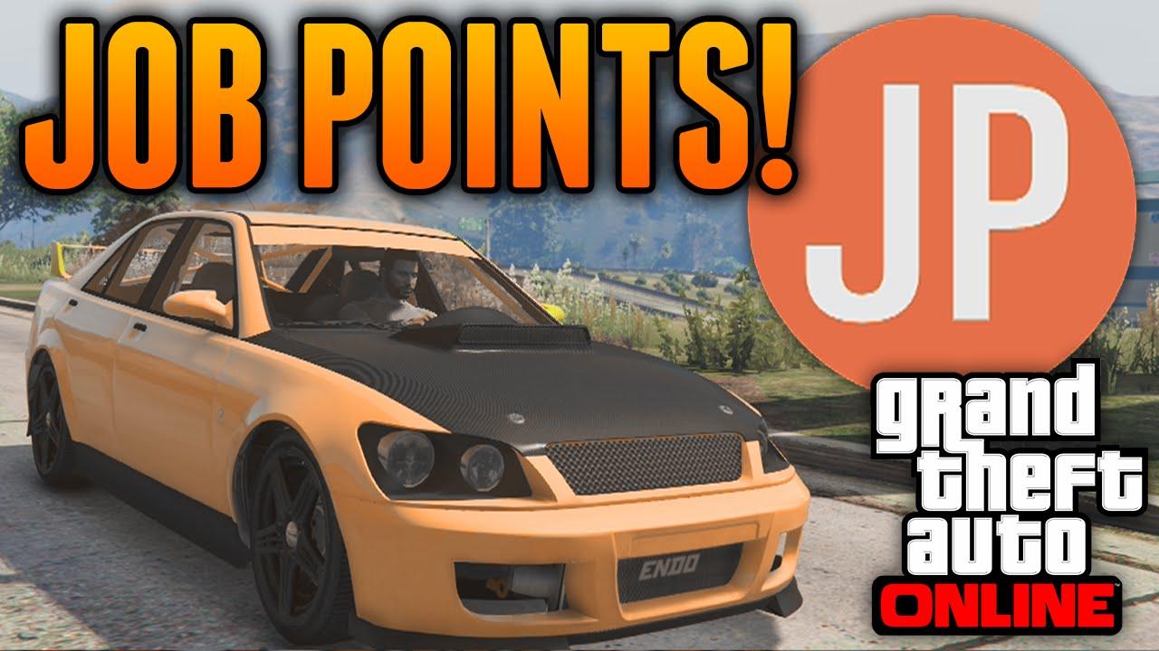 Jp points gta 5