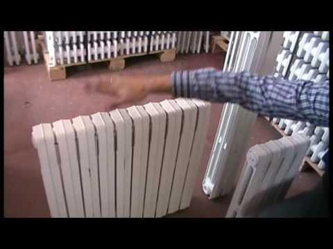 Radiadores de hierro fundido modelo duba youtube - Modelos de radiadores ...