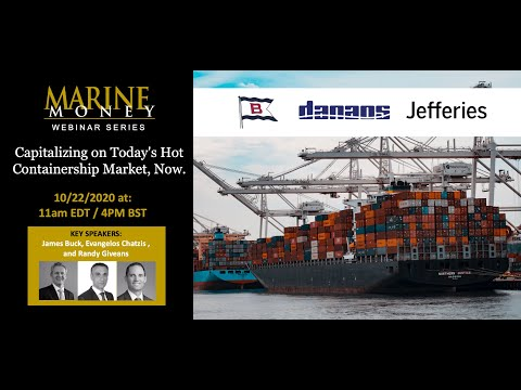25-Minute Investment Opportunity Speed Round: Capitalizing on Today's Hot Containership Market Now