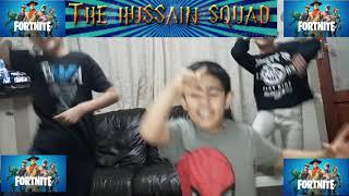 T-H-S fortnite squad dance move