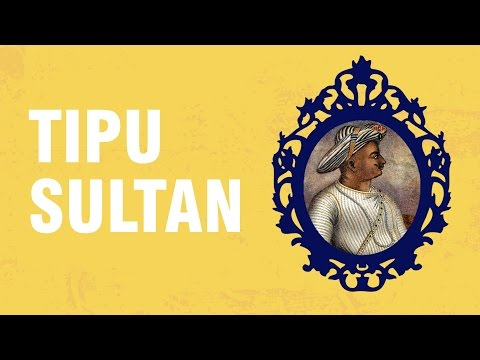 Tipu Sultan, The Tiger of Mysore. Life History CBSE