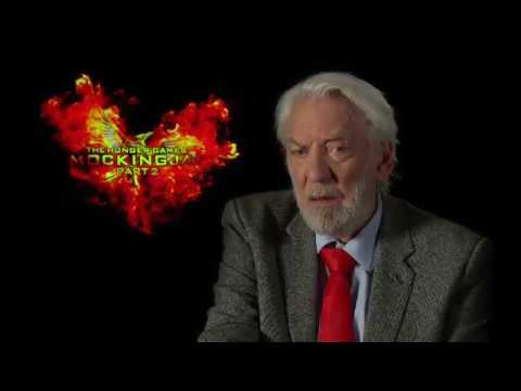 My Interview with Donald Sutherland for ynet