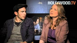 Jenna Fischer and Chris Messina talk about The Giant Mechanical Man