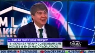 Antalya'nın Vizyon Projeleri CNBC-E'de