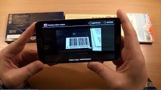 видео считывание штрих кода телефоном