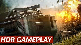 Battlefield 1. Campaign - HDR Gameplay 4K 60FPS [PS4 Pro]
