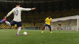 vuclip Colombia vs Ecuador (Copa Mundial Rusia 2018 de FIFA, Eliminatorias) | FIFA 17 Simulacion