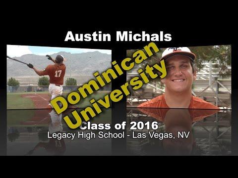 Austin Michals Baseball Recruitment Video - Class Of 2016