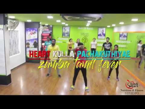 Zumba Tamil ||  gulebakavali ||heartkulla...