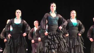 Фламенко испанский танец страсти Spanish flamenco dance