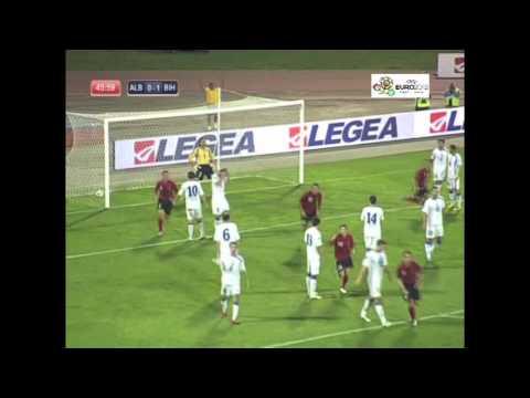 EURO 2012: Albania 1-1 Bosnia-Herzegovina (Albanija - BiH) 8-10-2010