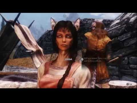 Skyrim Mods PC - KZ Style NPC Overhaul Khajiits and Argonians - YouTube