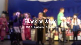 4. klasse • Fastelavn 2014 • Black or White