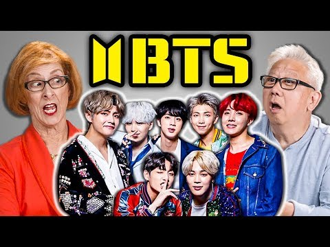 ELDERS REACT TO BTS - FAKE LOVE