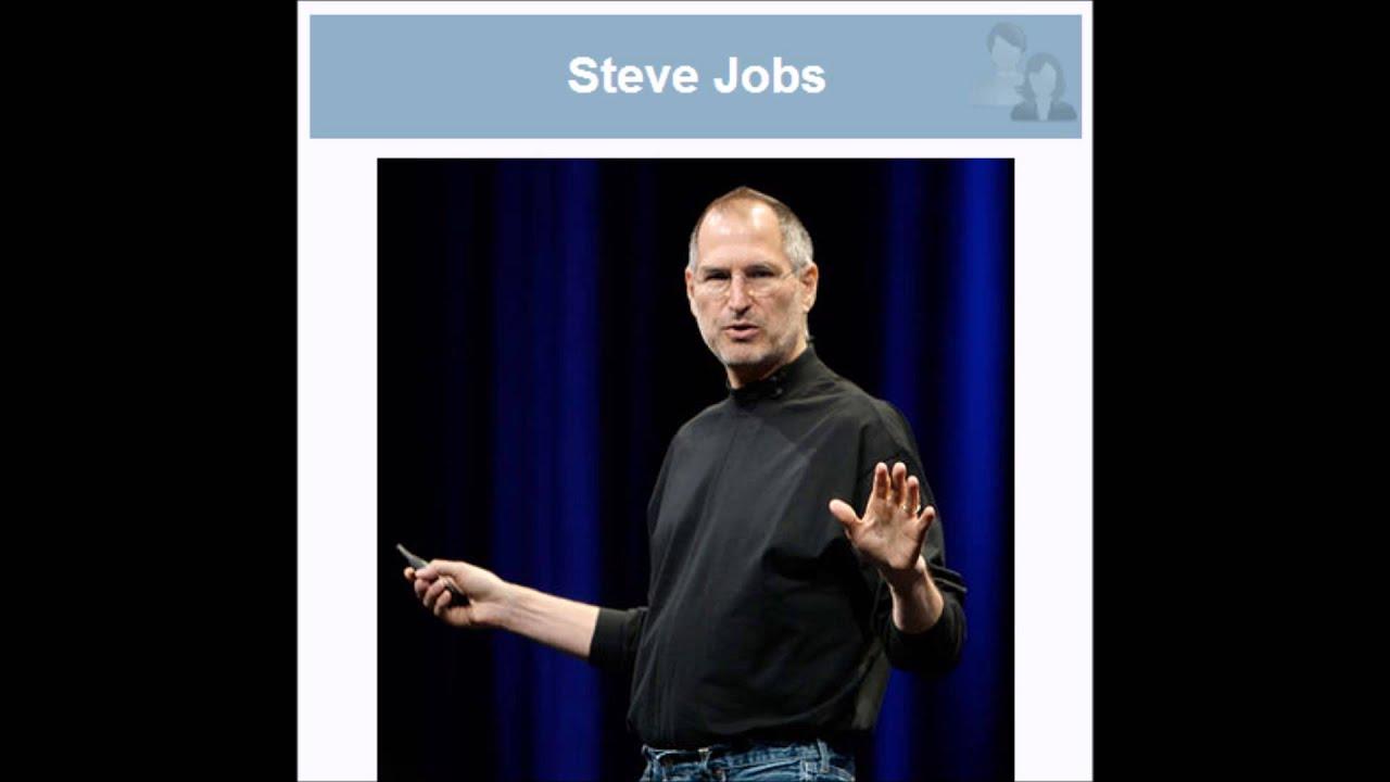 Steve Jobs Resumen De Su Vida Youtube