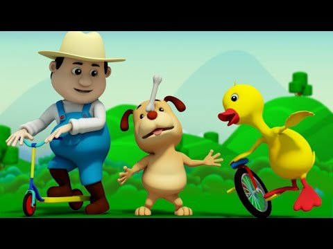 This Old Man | 3d Nursery Rhymes | Baby Songs | Kids Rhymes By Farmees S01E60