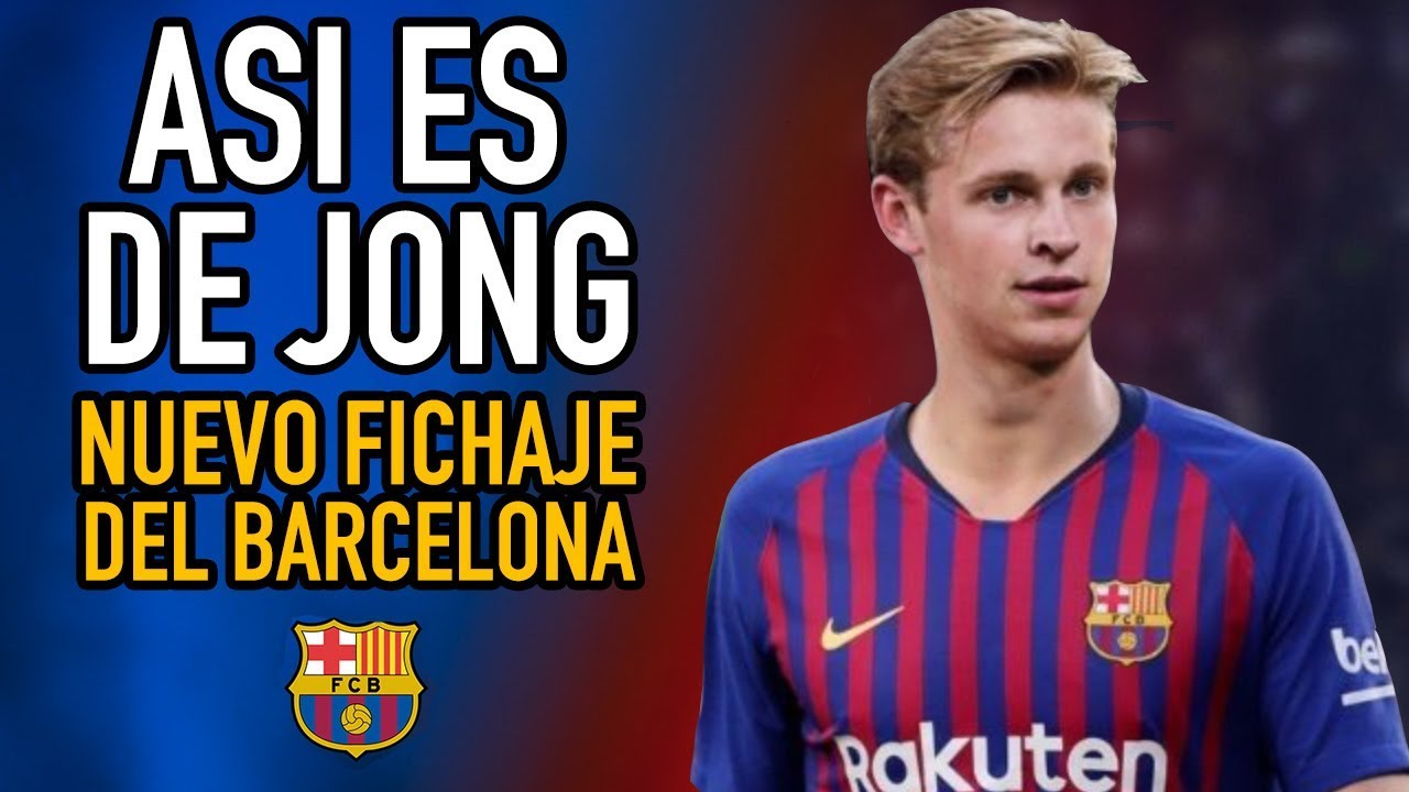 Barcelona confirma el fichaje de Frenkie de Jong
