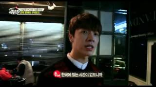 EunHae playing with a dog - SJM Guesthouse unreleased video
