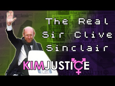 The REAL Sir Clive Sinclair:  Portable TV's, Black Watches and C5's, Oh my! - Kim Justice