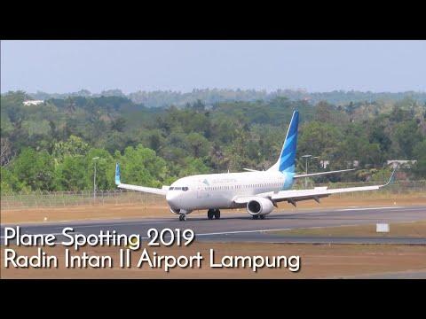 Plane Spotting Radin Intan II Airport Lampung Indonesia