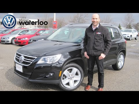 2011 VW Tiguan Review at Volkswagen Waterloo with Robert Vagacs