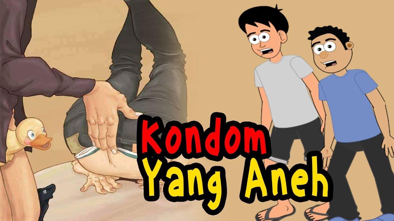 ableh bingung lihat kondom animasi lucu panjul dan ableh youtube ableh bingung lihat kondom animasi lucu panjul dan ableh