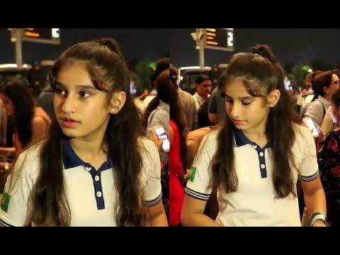 Raveena Tandon Daughter Rasha Spotted At Airport Mp3