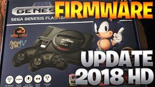 How to add Firmware Update/Sega Genesis Flashback HD 2018