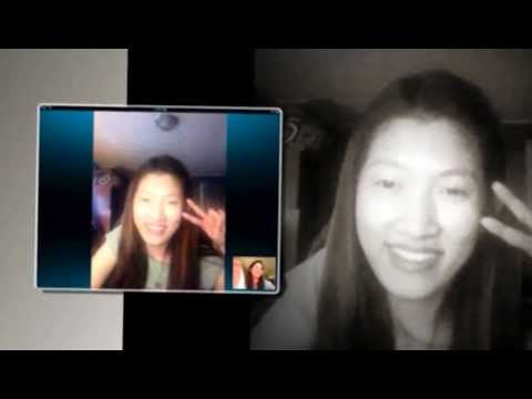 Good Friends Deaf Skype Chat Video Smile Cool!!