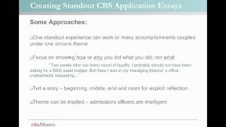 columbia business school columbia university  mbaessayanalysiscom columbia business school essay analysis  season  write like an  expert