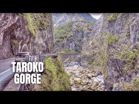 Taroko Gorge National Park Taiwan Walking Tour (Swallow Grotto Trail) / 太魯閣國家公園 / 타로코국립공원
