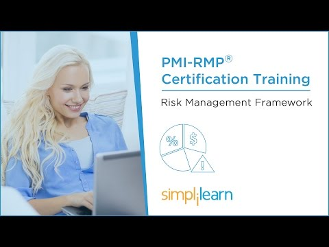 PMI-RMP® Training Videos | Lesson 2: Risk Management Framework | Simplilearn