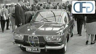 BMW 2000 C und BMW 1800 TI auf der IAA 1965