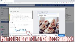 Cara Pasang Iklan Berbayar Untuk Promosi Produk Di Marketplace Facebook Youtube