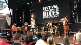 Spencer Mackenzie- Tremblant International Blues Festival 2019- Move on Down the Track (Original)