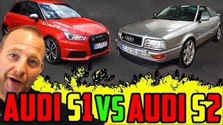VERNUNFT oder EMOTIONEN? - Audi S1 VS Audi S2 - Performance / Zeiten / Preise!