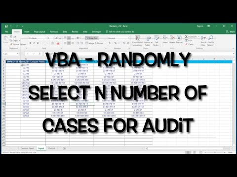 VBA/Excel Randomizer - Randomly select rows / records- vbatip#1