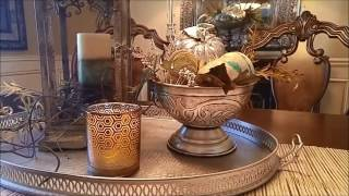 3 Easy Dining Room TableScape Options