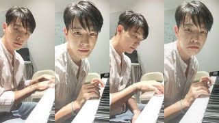"""Gambar cover Lee Donghae """"live in practice studio"""" YouTube LIVE Stream - 190917"""