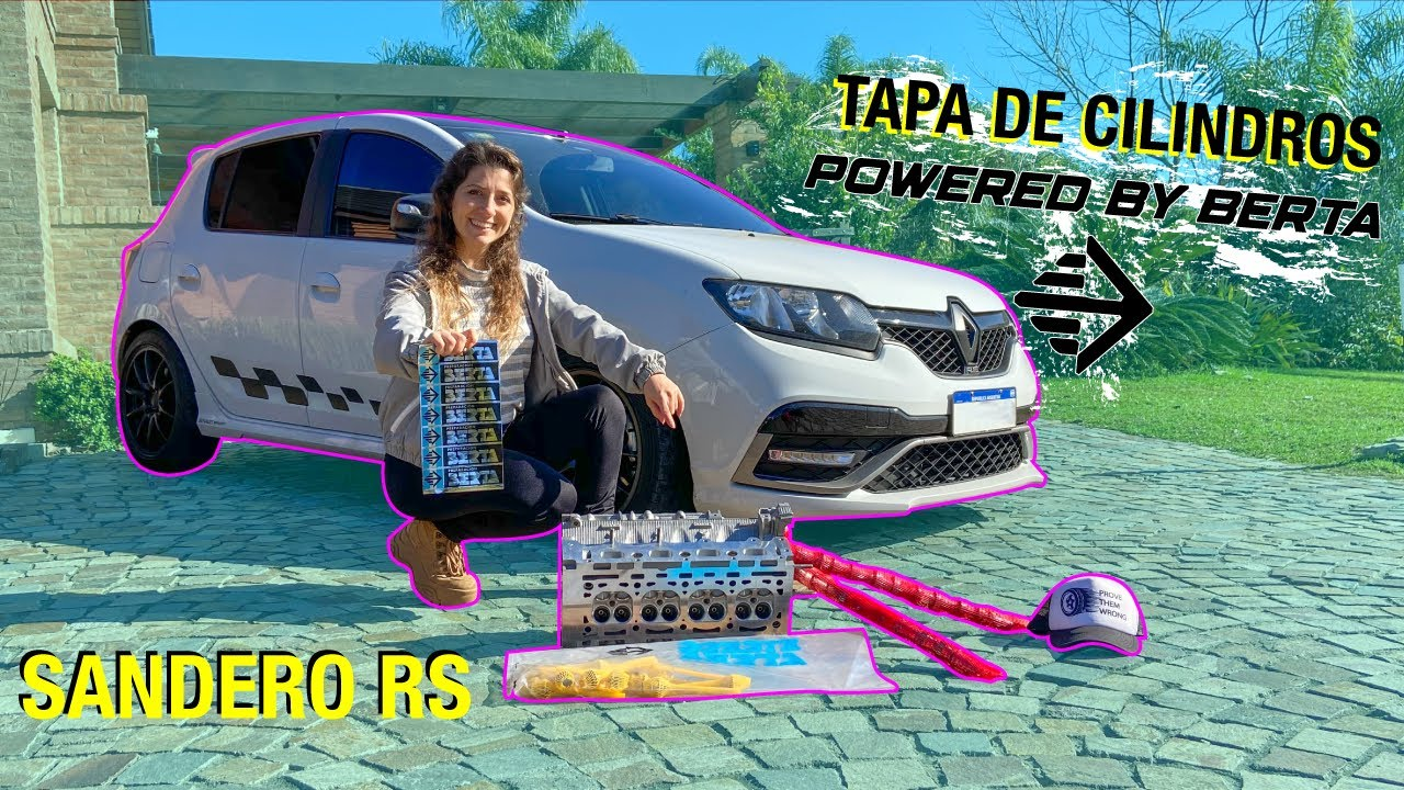 Tapa de cilindros POWERED BY BERTA | Sandero RS