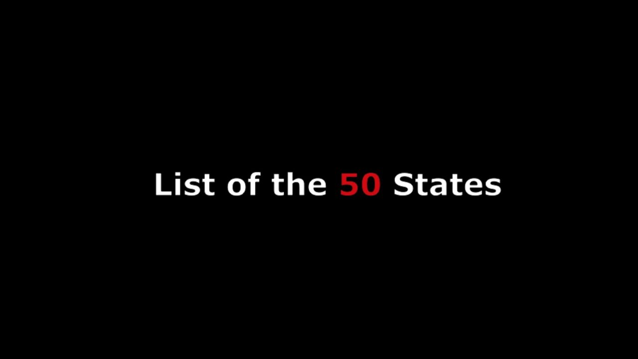 List Of States In USA W All State Capitals Of Those United - Us map alphabetical order
